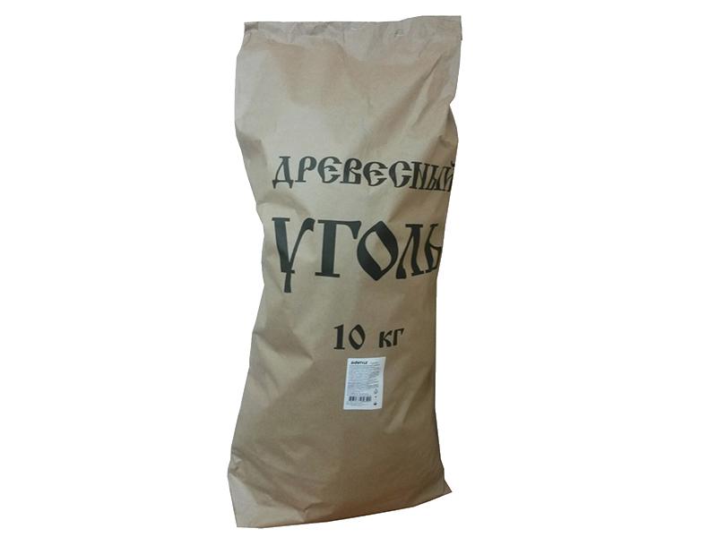 """Уголь древесный BioStyle """"Профи"""" в пакете, 10кг."""