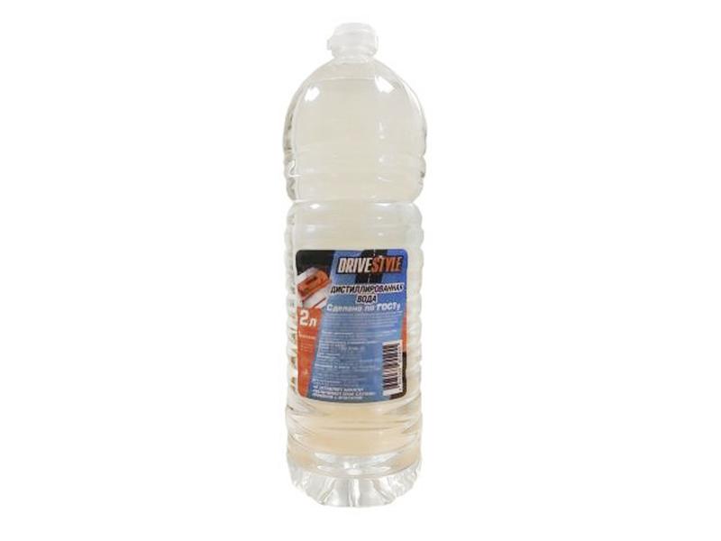 Дистиллированная вода DRIVESTYLE, 2л,