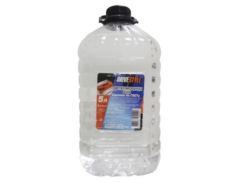 Дистиллированная вода DRIVESTYLE, 5л,