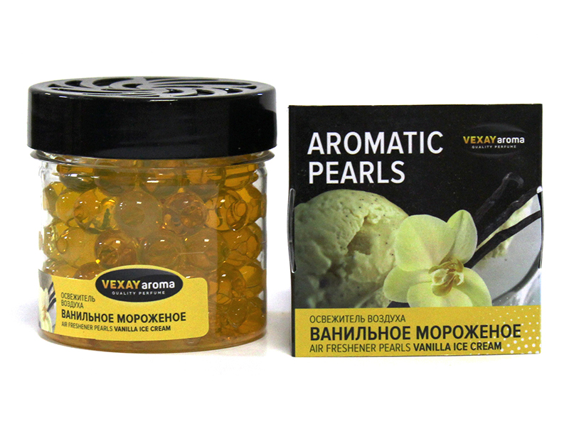 "Ароматизатор Vexay Aromatic Pearls ""Vanilla Icecream"""