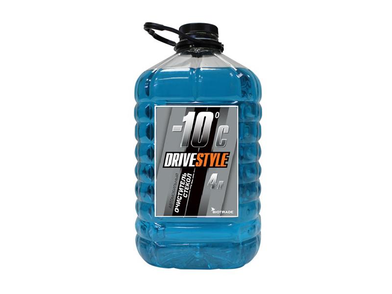Очиститель стекол  DRIVESTYLE -10, 4л., ПЭТ