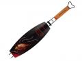 """Решетка для гриля BioStyle """"Царская"""", для рыбы, антипригарная"""
